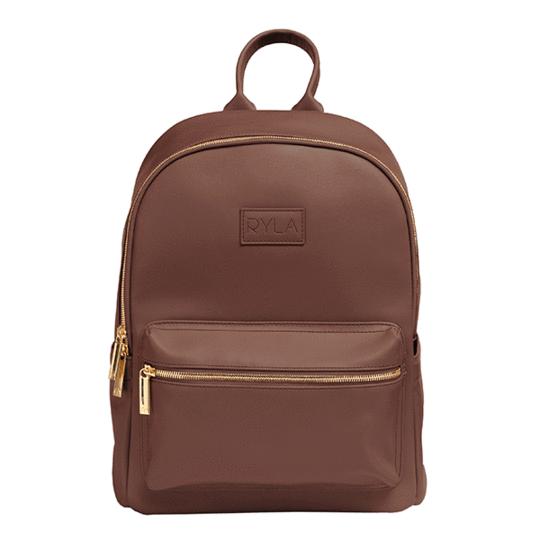 RYLA Ready Brown Diaper Bag Backpack